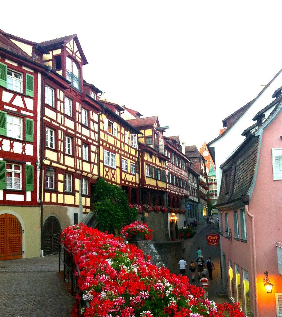Die Altsadt von Meersburg